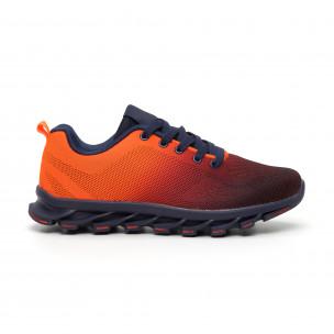 Ανδρικά πορτοκαλί νέον αθλητικά παπούτσια Blade