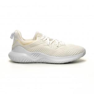 Ανδρικά λευκά αθλητικά παπούτσια FM