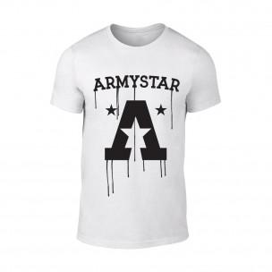 Κοντομάνικη μπλούζα Armystar λευκό