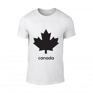 Κοντομάνικη μπλούζα Canada λευκό