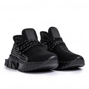 Ανδρικά μαύρα αθλητικά παπούτσια Cubic Kiss GoGo 2