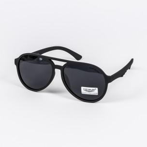 Ανδρικά μαύρα γυαλιά ηλίου Cheisler