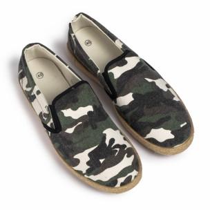 Ανδρικές καμουφλαζ εσπαντρίγιες Buondi & Shoes  2