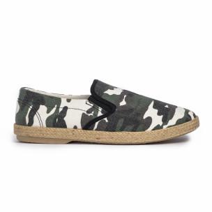 Ανδρικές καμουφλαζ εσπαντρίγιες Buondi & Shoes