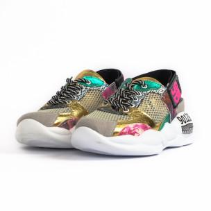Γυναικεία πολύχρωμα sneakers Bodrum 2