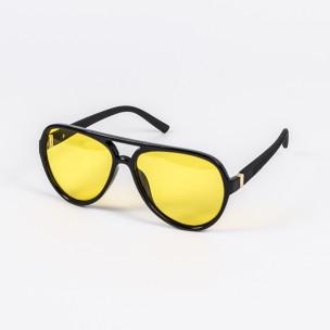 Ανδρικά μαύρα γυαλιά ηλίου Polar Drive