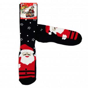 Ανδρικές Χριστουγεννιάτικες κάλτσες σκούρο μπλε 1 ζευγάρι