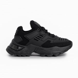 Γυναικεία μαύρα αθλητικά παπούτσια Sergio Todzi