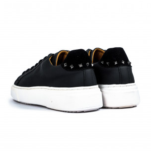Ανδρικά μαύρα sneakers 2