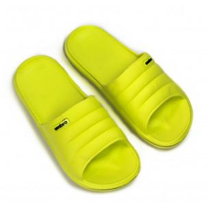 Γυναικείες κίτρινες παντόφλες Umbro 2