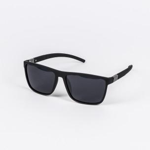 Ανδρικά μαύρα γυαλιά ηλίου Aedoll