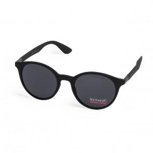 Ανδρικά μαύρα γυαλιά ηλίου Renato 2