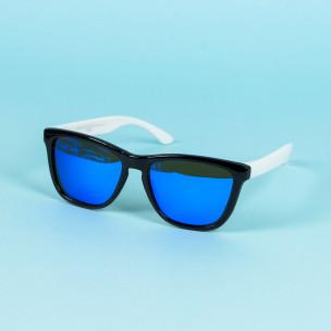 Ανδρικά γαλάζια γυαλιά ηλίου FM