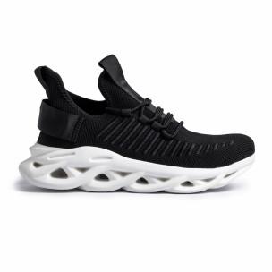 Ανδρικά μαύρα αθλητικά παπούτσια Rogue
