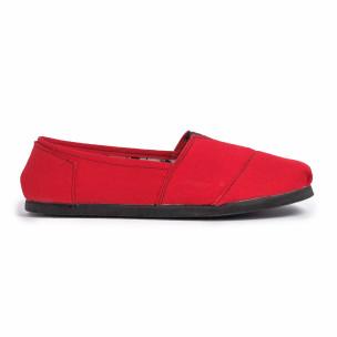 Ανδρικές κόκκινες εσπαντρίγιες Fashionmix 2