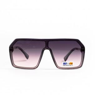 Ανδρικά καφέ γυαλιά ηλίου μάσκα