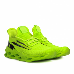 Ανδρικά πράσινα sneakers Chevron Kiss GoGo 2