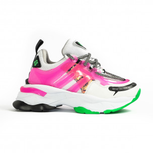 Γυναικεία ροζ sneakers Sense8