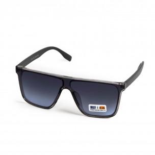 Ανδρικά γαλάζια γυαλιά ηλίου μάσκα  2