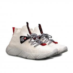 Ανδρικά λευκά αθλητικά παπούτσια Fashion 2