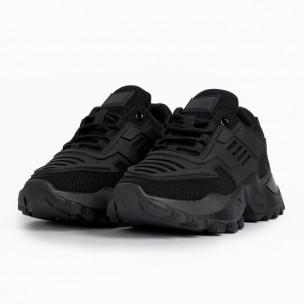 Γυναικεία μαύρα αθλητικά παπούτσια Sergio Todzi 2