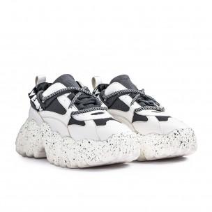 Sneakers Ultra Sole σε λευκό και γκρι Sergio Todzi 2