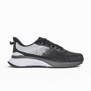 Ανδρικά μαύρα αθλητικά παπούτσια Bazaar Charm Bazaar Charm