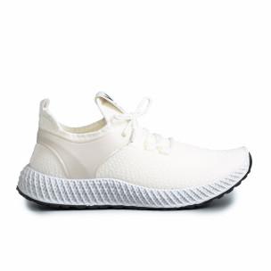 Ανδρικά λευκά αθλητικά παπούτσια Fashion Fashion