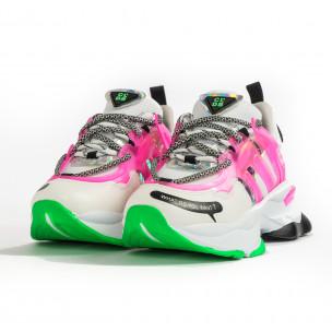 Γυναικεία ροζ sneakers Sense8  2