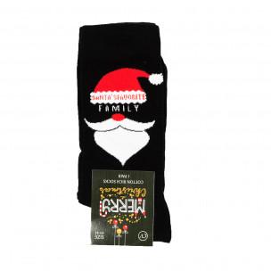 Αρωματικές χριστουγεννιάτικες κάλτσες μαύρο 1 ζευγάρι
