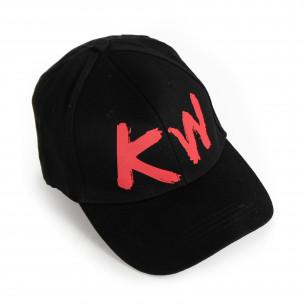 Ανδρικό μαύρο καπέλα μπέιζμπολ 2