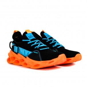 Ανδρικά πολύχρωμα αθλητικά παπούτσια Chevron Fluo Sole Kiss GoGo 2