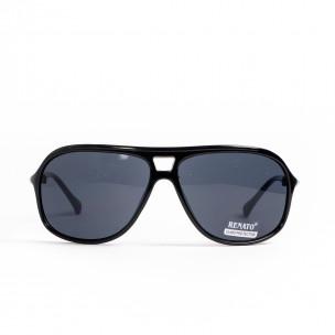 Ανδρικά μαύρα γυαλιά ηλίου Renato
