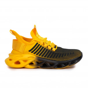 Ανδρικά κίτρινα αθλητικά παπούτσια Rogue gradient Kiss GoGo