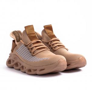 Ανδρικά καφέ αθλητικά παπούτσια Kiss GoGo Kiss GoGo 2