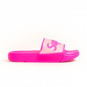 Γυναικείες ροζ παντόφλες Queen Vivi 2