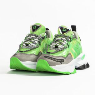 Γυναικεία πράσινα sneakers Sense8 2