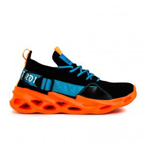 Ανδρικά πολύχρωμα αθλητικά παπούτσια Chevron Fluo Sole