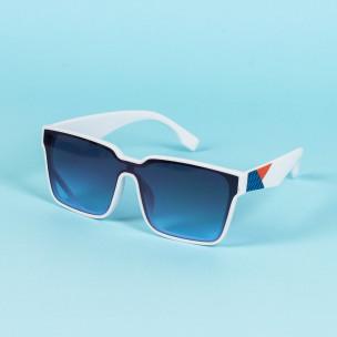 Ανδρικά λευκά γυαλιά ηλίου Aedoll