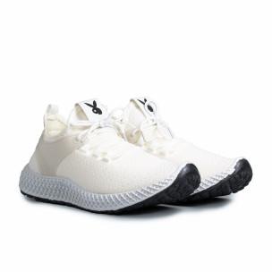 Ανδρικά λευκά αθλητικά παπούτσια Fashion Fashion 2