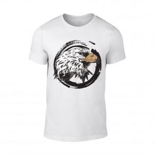 Κοντομάνικη μπλούζα Eagle λευκό