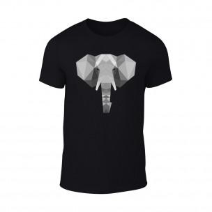 Κοντομάνικη μπλούζα Elephant μαύρο