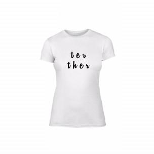 Γυναικεία Μπλούζα Better Together λευκό Χρώμα Μέγεθος M