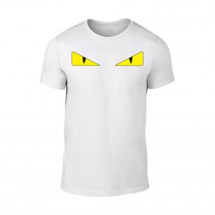 Κοντομάνικη μπλούζα Fendi λευκό