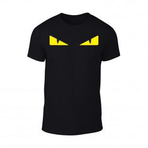 Κοντομάνικη μπλούζα Fendi μαύρο