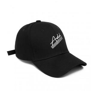 Ανδρικό μαύρο καπέλα μπέιζμπολ