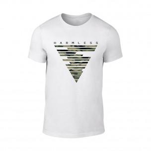 Κοντομάνικη μπλούζα Harmless λευκό Χρώμα Μέγεθος XXL