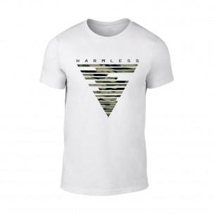 Κοντομάνικη μπλούζα Harmless λευκό