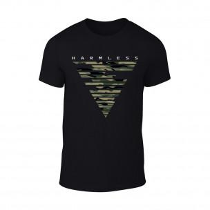 Κοντομάνικη μπλούζα Harmless μαύρο