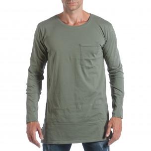Ανδρική πράσινη μπλούζα MM Studio